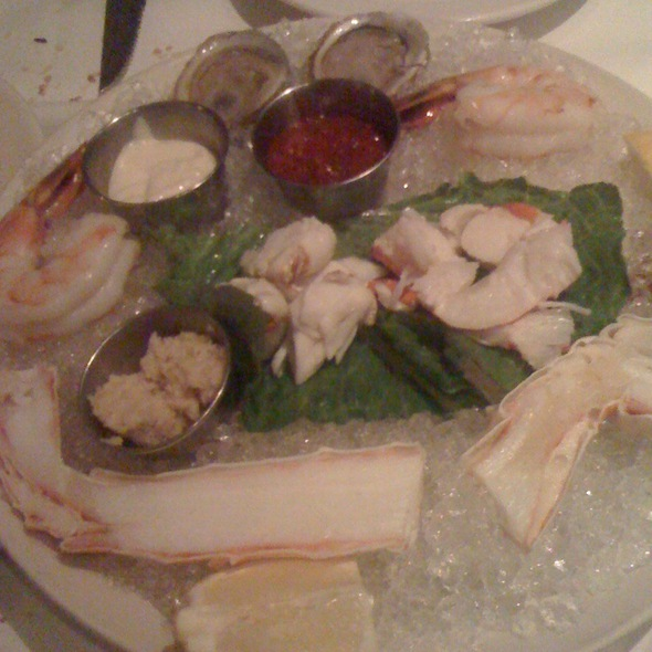 mixed seafood platter - Morton's The Steakhouse - North Miami Beach, North Miami Beach, FL