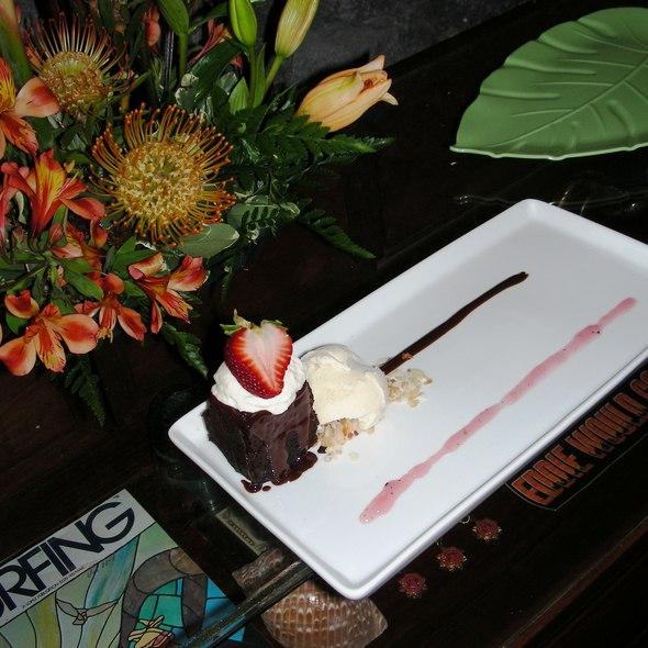 Kona Coffee Chocolate Cake @ Eddie Aikau Restaurant & Surf Museum