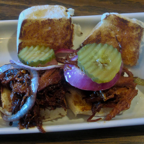 Bbq Pulled Pork Sliders @ Mimi's Cafe Long Beach