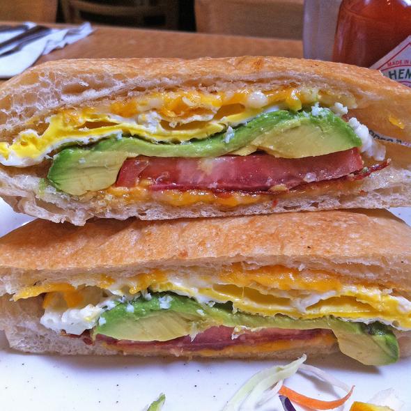 Breakfast Sandwich @ Hobee's Restaurant