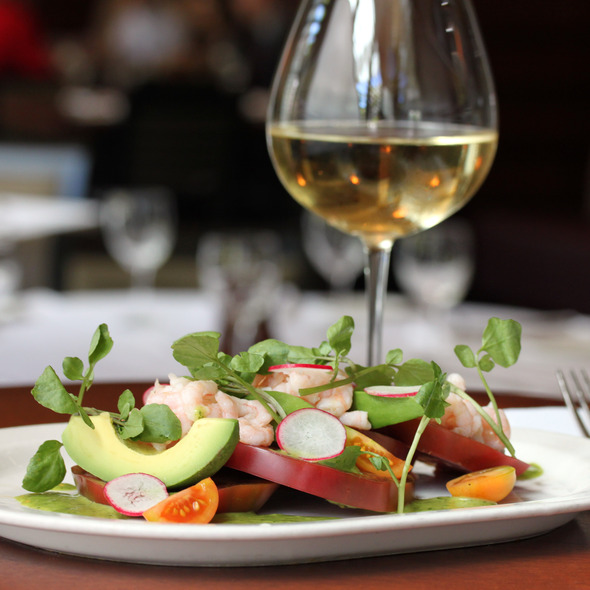 Ray Yeung Heirloom Tomato Salad @ Esquire Grill / Old Concept