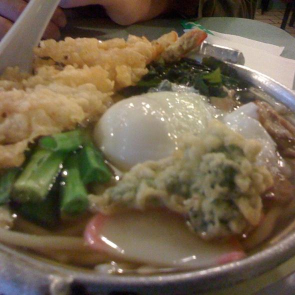 Nabeyaki Udon @ Hana Restaurant