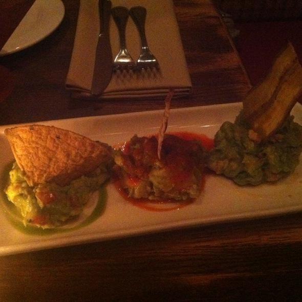 Guacamole Trio @ Zocalo Restaurant