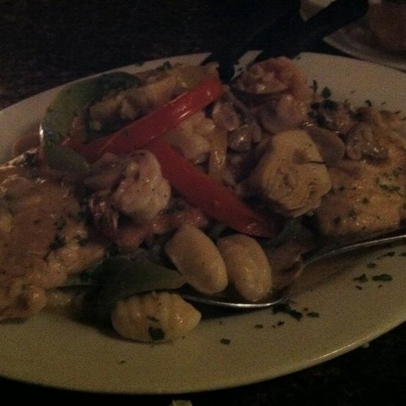 """Gnocchi """"Al Dente"""" Special - Al Dente Restaurant, Boston, MA"""