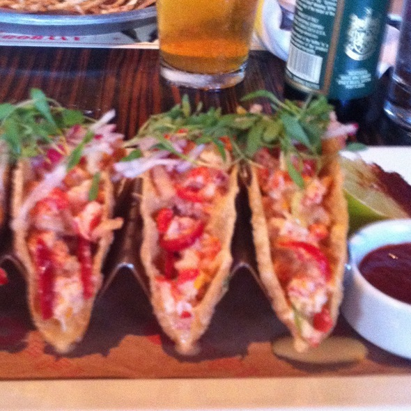 Lobster Tacos @ The Office
