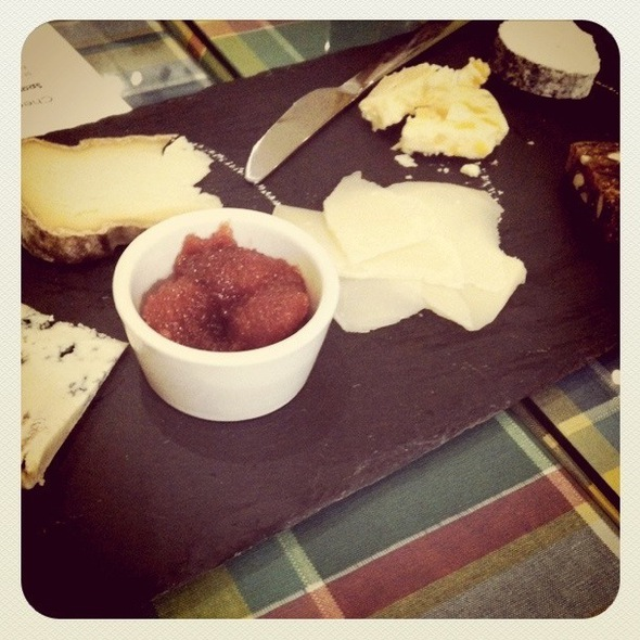 Cheese Plate @ Wedge + Fig