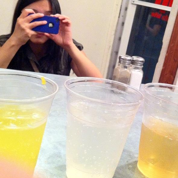 Flight Of Sodas @ Tuck Shop