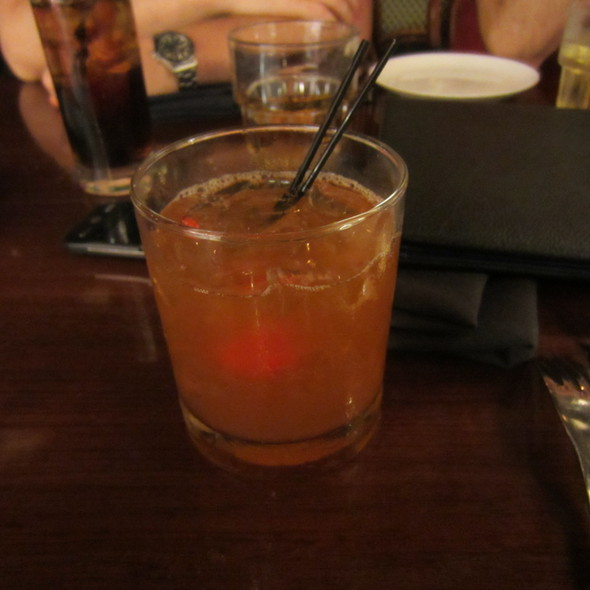 Old Fashioned - Whisper Restaurant & Lounge, Los Angeles, CA