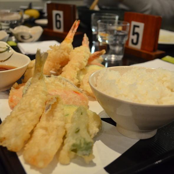 Tempura Set @ Sushi-Ya Japanese Restaurant Chatswood
