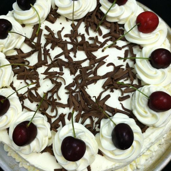 Black Cherry Chocolate Cake Homemade - Village Tavern, North Wales, PA
