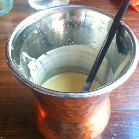 mango lassi @ Mayura - restaurant & lounge