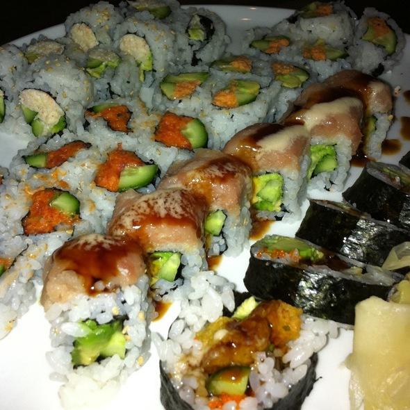 Sushi Rolls - Chaya Downtown, Los Angeles, CA