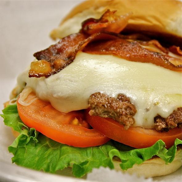 The Foursquare Burger @ AJ Bombers