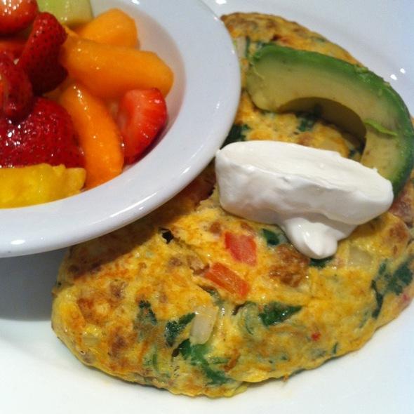 Spicy Flamenco Omelette @ Meli Cafe & Juice Bar