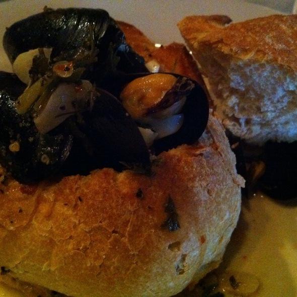 Steamed Prince Edward Island Mussels @ La Cipollina Ristorante