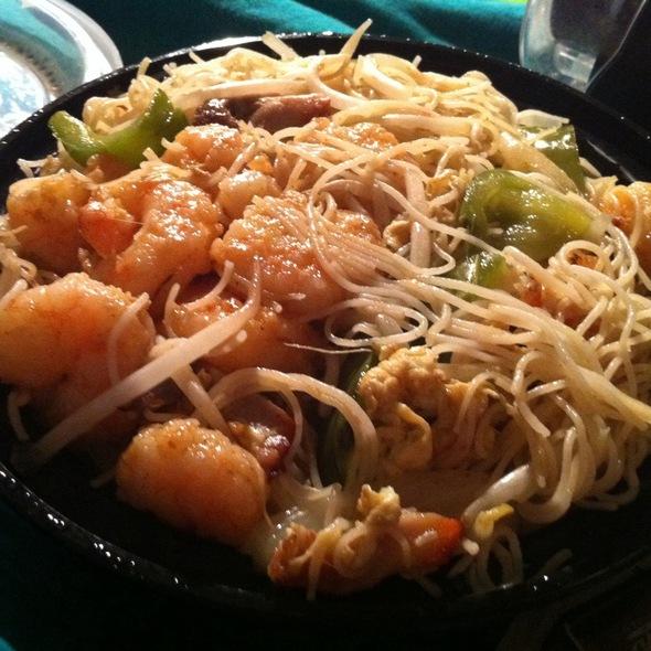 Singapore Style Rice Noodles @ Hunan Kitchen