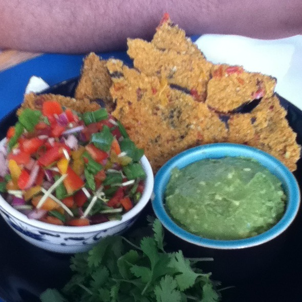 Noritos, Pico, And Guac @ Chakra 4 Herb & Tea House