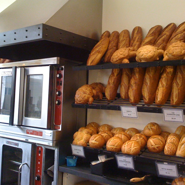 Sourdough Bread! @ Boudin Sourdough Bakery & Cafe