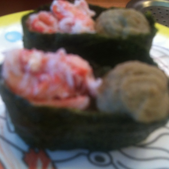 かに味噌 @ かっぱ寿司 練馬貫井店