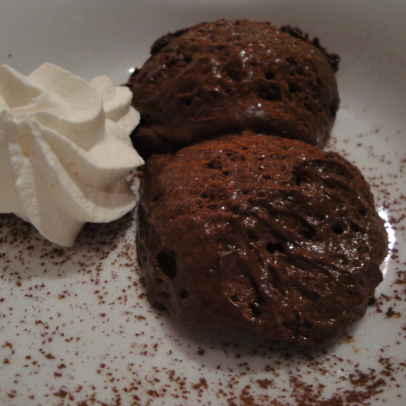 Chocolate Mousse @ Restaurante la Rosa Di Bari