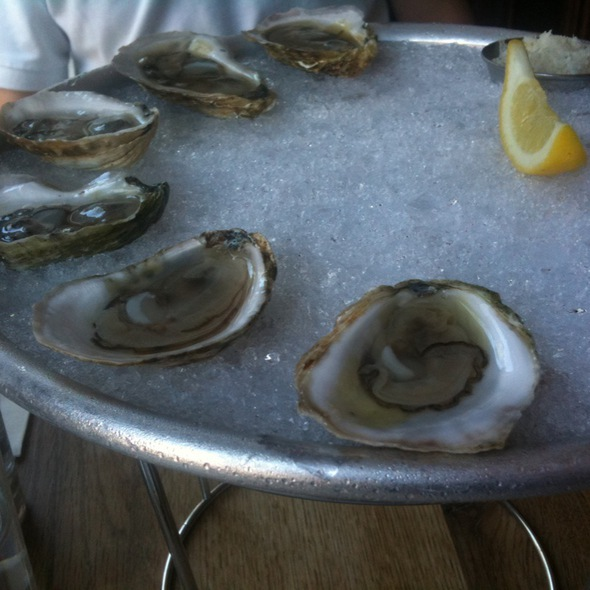 Rhode Island Oysters @ Prime Meats