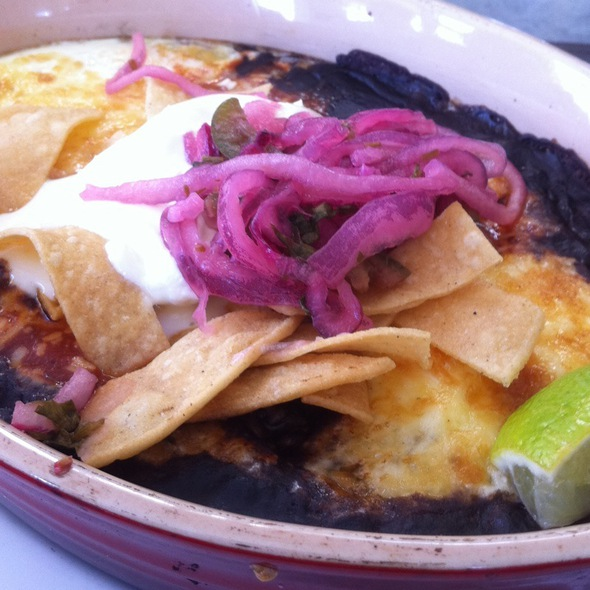 Huevos Racheros @ Cookshop Restaurant & Bar
