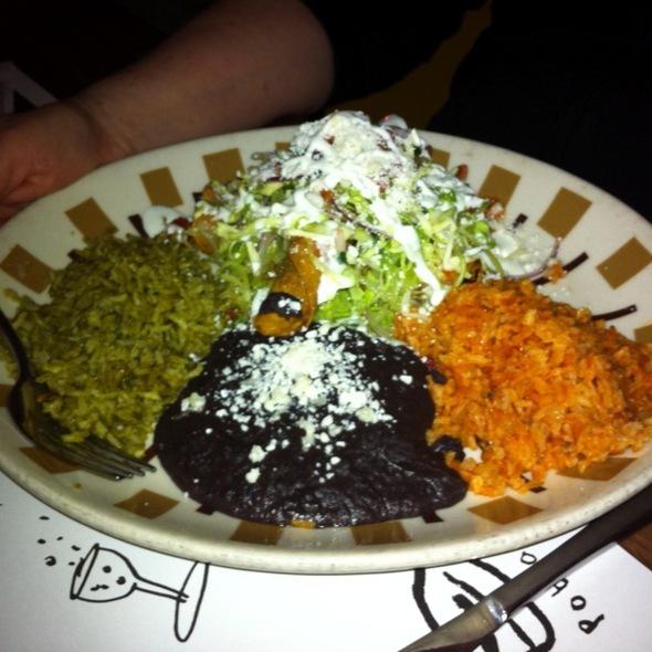 Beef Brisket Taquitos - Border Grill - Downtown LA, Los Angeles, CA