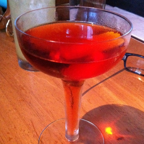 Barrel Aged Negroni @ The Tasting Kitchen