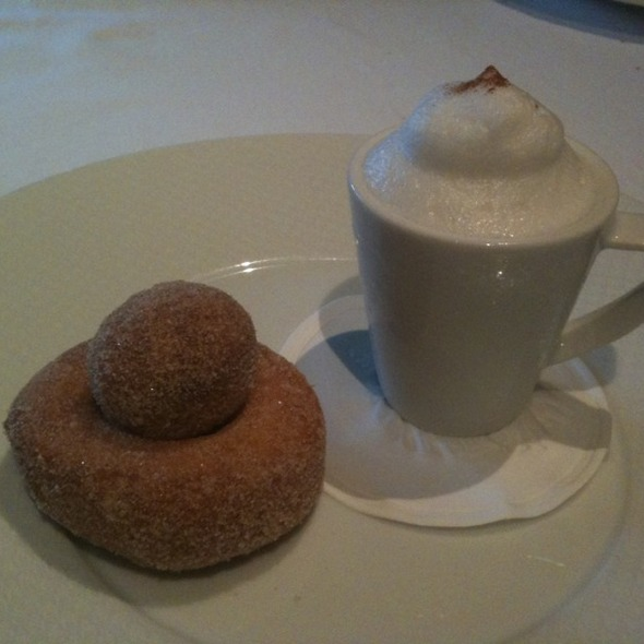 Coffee and Doughnuts @ The French Laundry