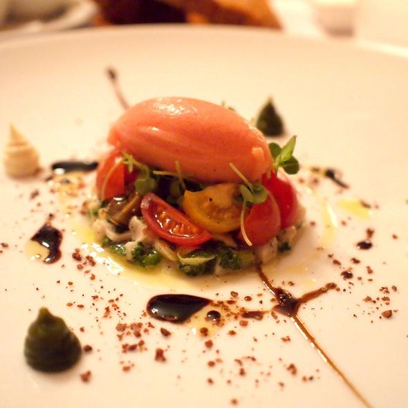 kingfish ceviche @ Restaurant Atelier