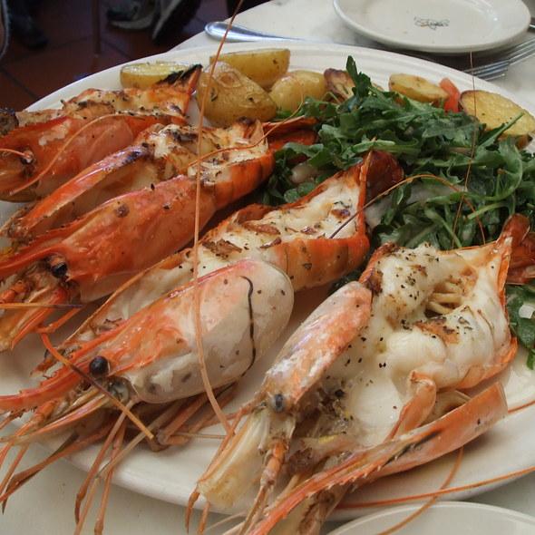 Shrimp Scampi @ Il Fornaio