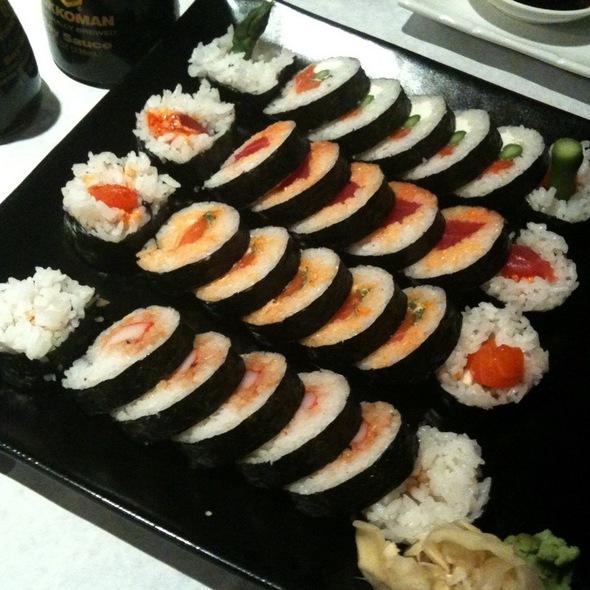 Assorted Sushi - Okura Robata Grill and Sushi Bar - La Quinta, La Quinta, CA
