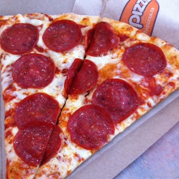 Pepperoni Slice @ Pizza Pizza