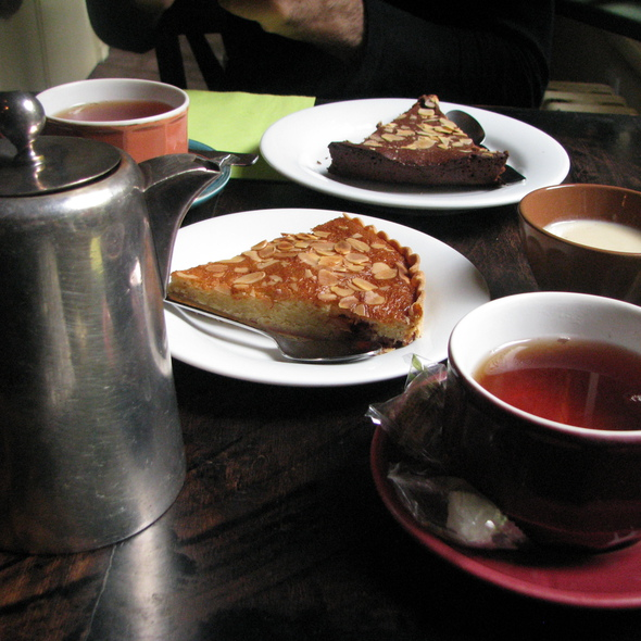 Tea and homemade cakes @ Le Vieux Carré