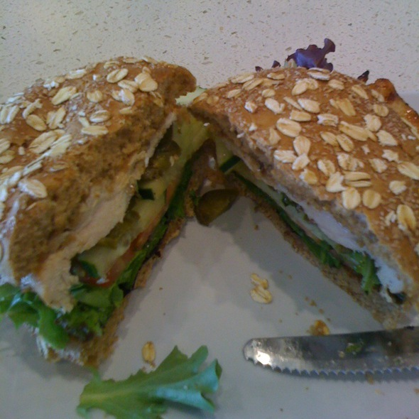Chicken Burger @ The Counter @ Del Mar Highlands
