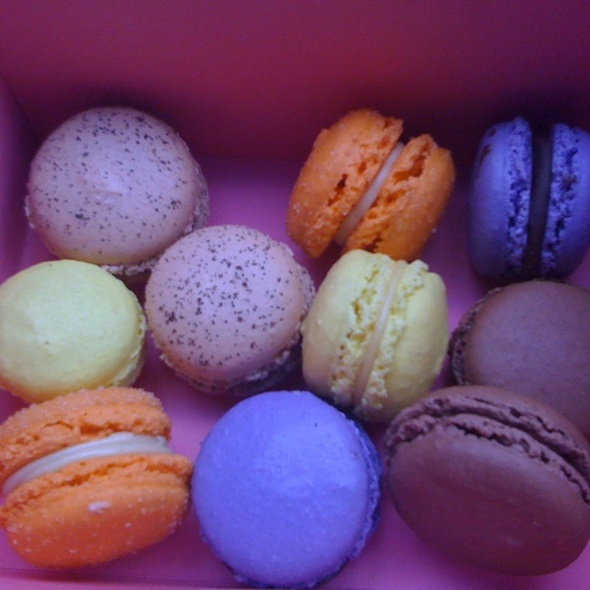 Parisian Macaroons @ Bakery Nouveau