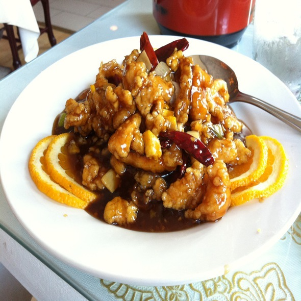 Orange Chicken @ Lu Lu Seafood Restaurant
