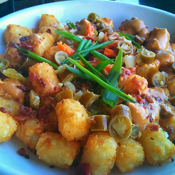 Loaded Tater Tots @ Bar Louie