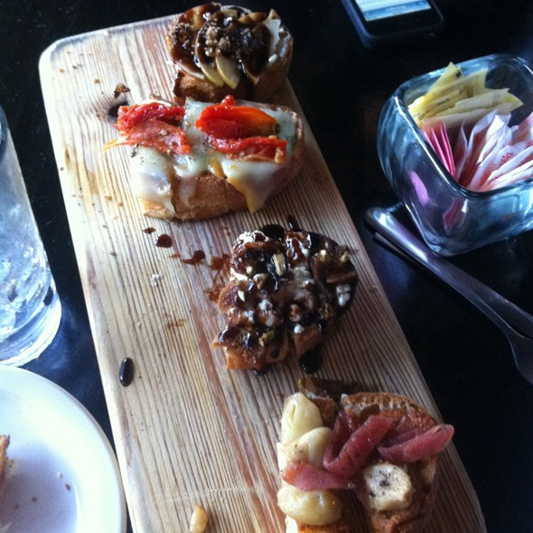 Bruschetta @ The Drop Bar & Bistro
