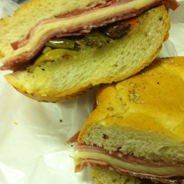 Muffaletta @ Central Grocery