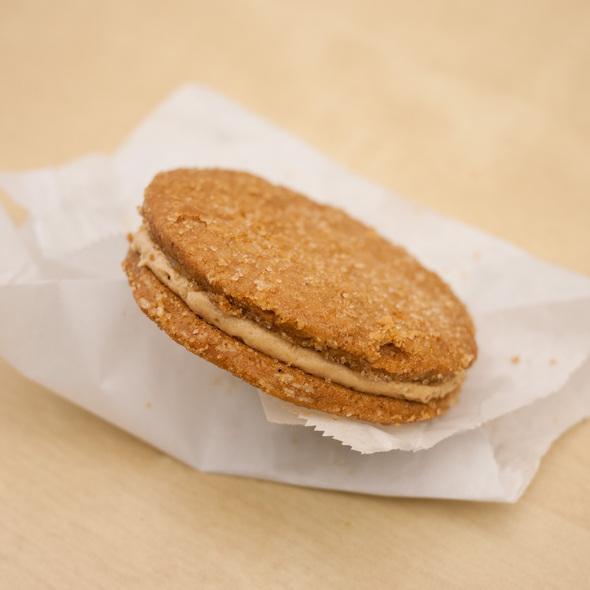 Peanut Butter Cookie Sandwich @ 'Wichcraft