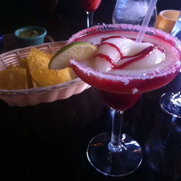 Strawberry Margaritta @ Pelea Mexicana