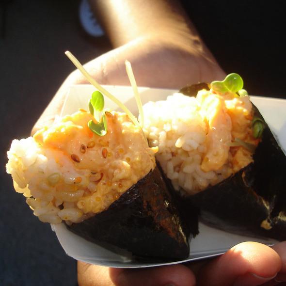 Spicy Shrimp Onigiri @ Onigilly
