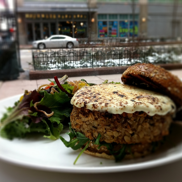 Veggie Burger @ Atwood