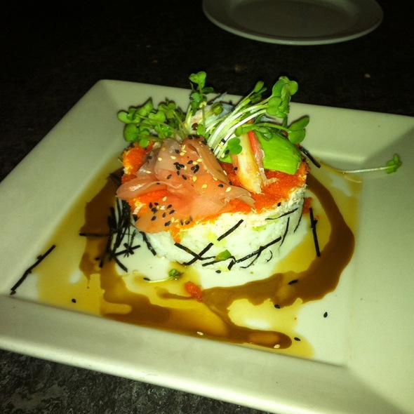 Chelle foodspotting for California roll house