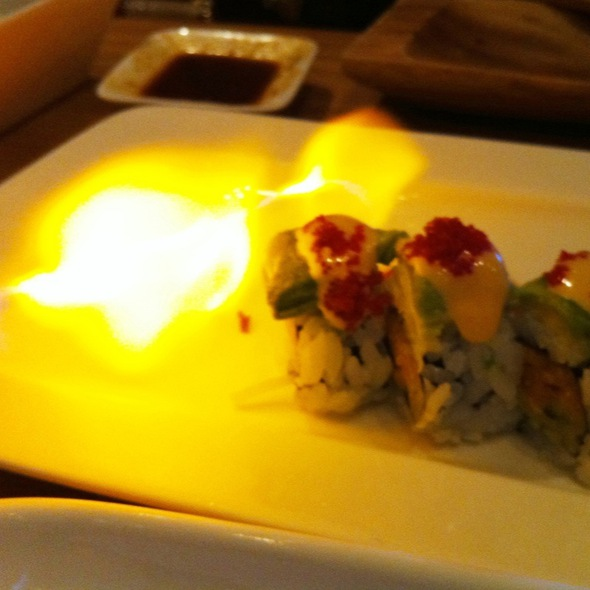 Extinguisher Roll @ Tataki Sushi and Sake Bar
