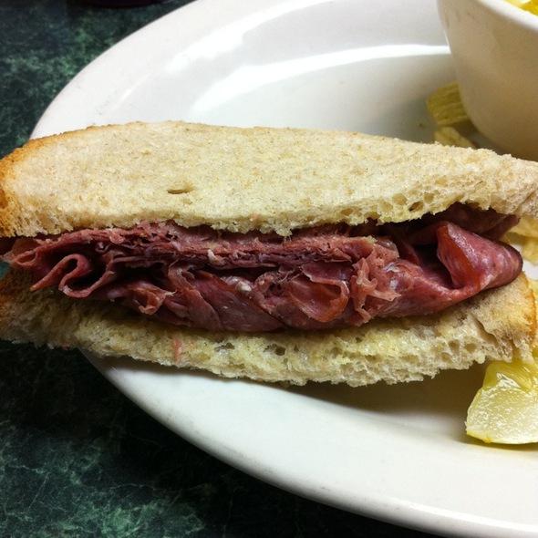 Lebanon Bologna Sandwich @ Henk's European Deli