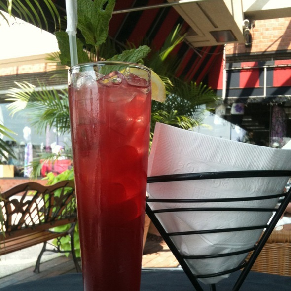 Pomegranate Lemonade - West End Cafe, Carle Place, NY