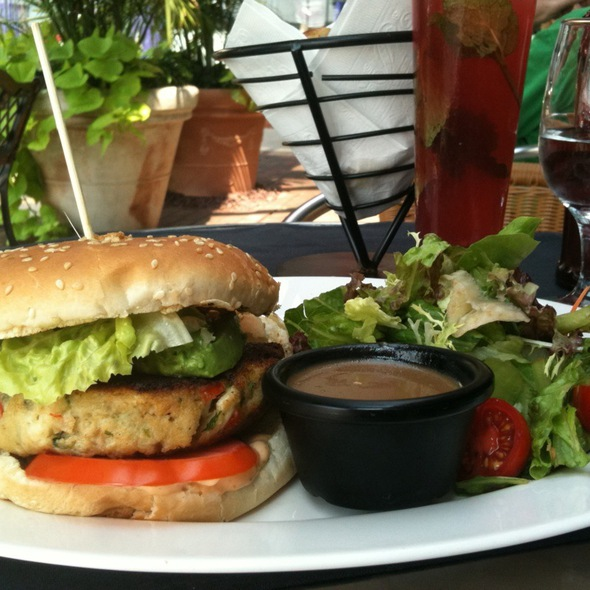 Crab Cake Sandwich - West End Cafe, Carle Place, NY