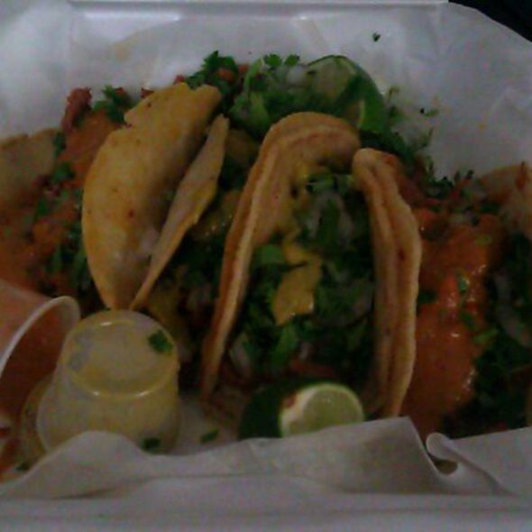 Tacos @ Delicias Latinas Food Truck